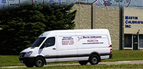 On Site Calibration Company Van
